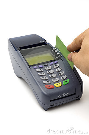 swiping credit card pos terminal 11311103